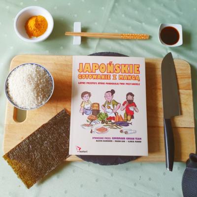 Japońskie gotowanie z mangą